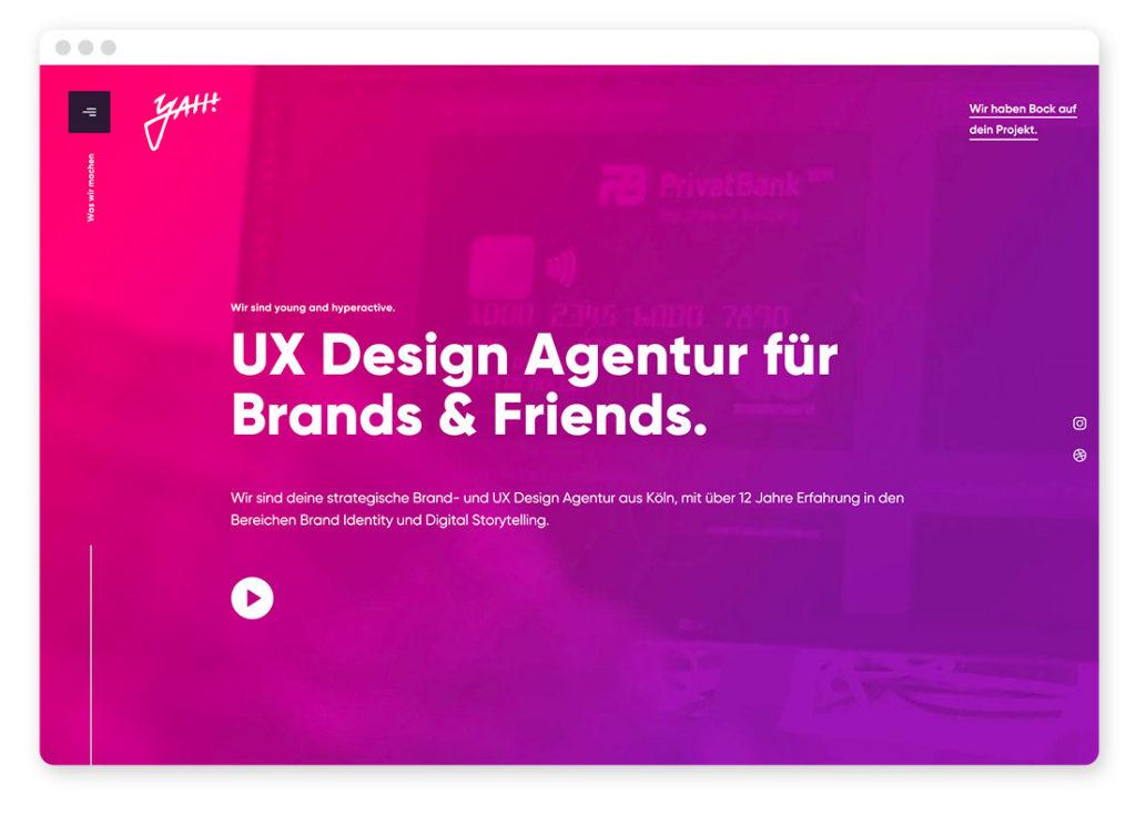 Farbtrends im Webdesign – Das sind die angesagtesten Farbkombinationen auf Websites 43