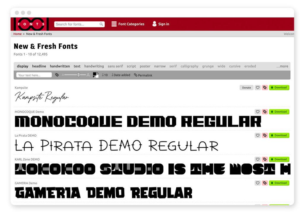 Über 95 Typo- und Fonts-Tools für deinen Webdesign-Alltag 24