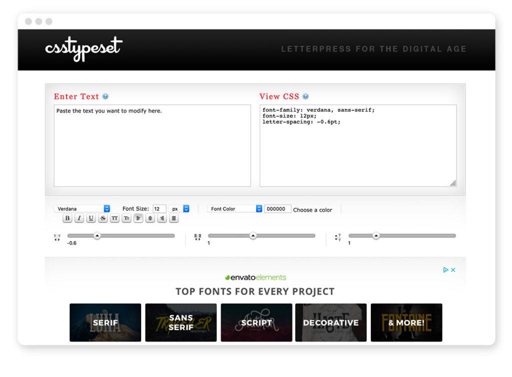 Über 95 Typo- und Fonts-Tools für deinen Webdesign-Alltag 46