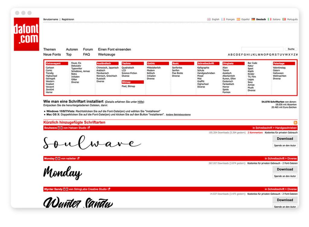 Über 95 Typo- und Fonts-Tools für deinen Webdesign-Alltag 25