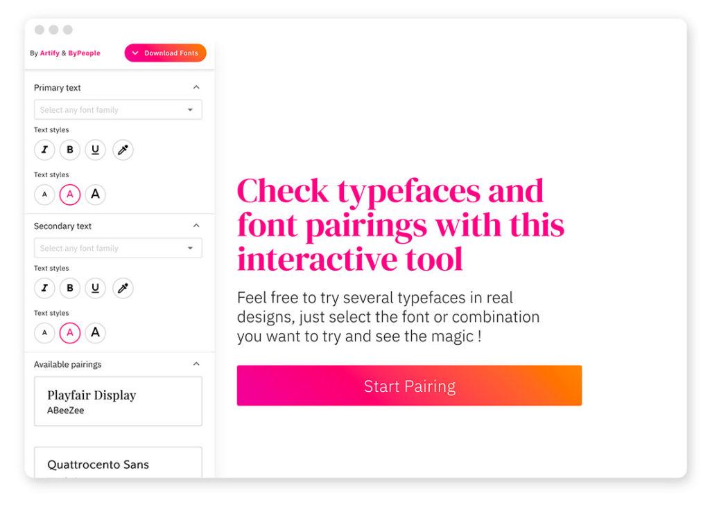 Über 95 Typo- und Fonts-Tools für deinen Webdesign-Alltag 71