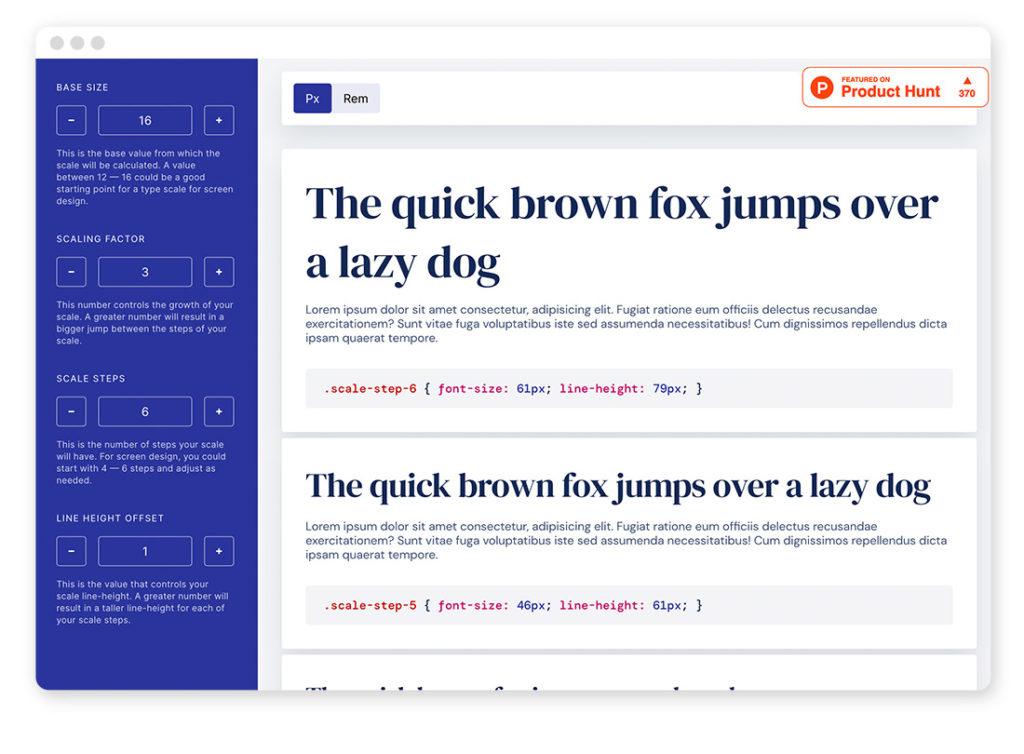 Über 95 Typo- und Fonts-Tools für deinen Webdesign-Alltag 54