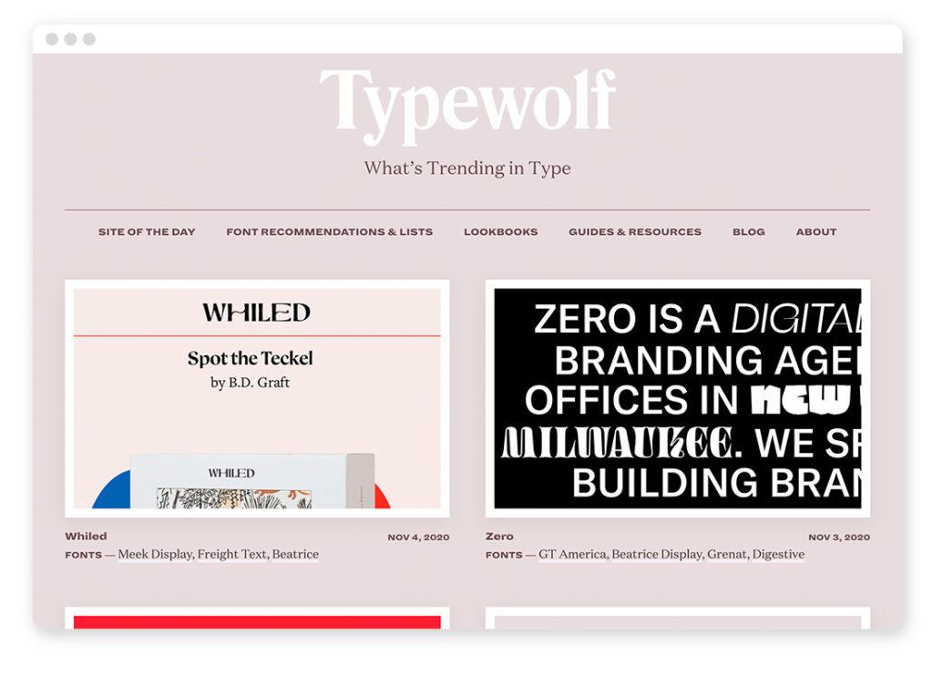 Über 95 Typo- und Fonts-Tools für deinen Webdesign-Alltag 61
