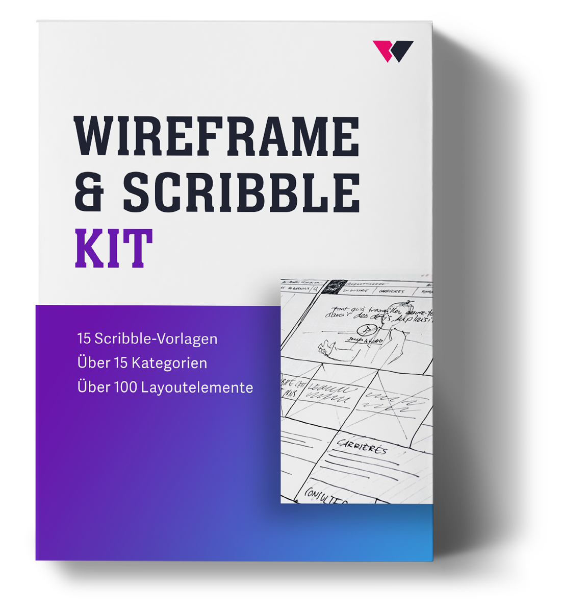 Wireframe Kit Dankesseite 7