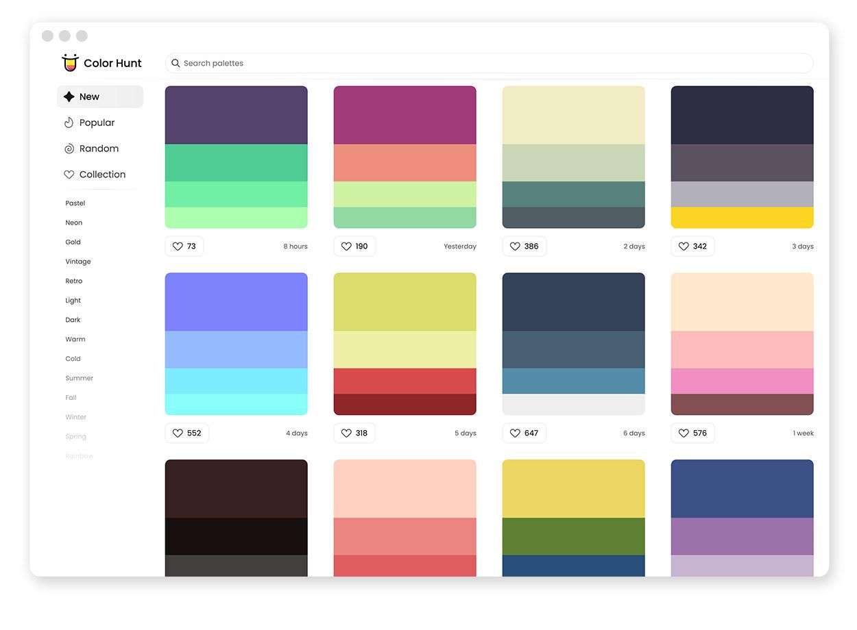 Über 30 Farb-Tools um Farbpaletten & Farbverläufe zu gestalten und zu entdecken 25