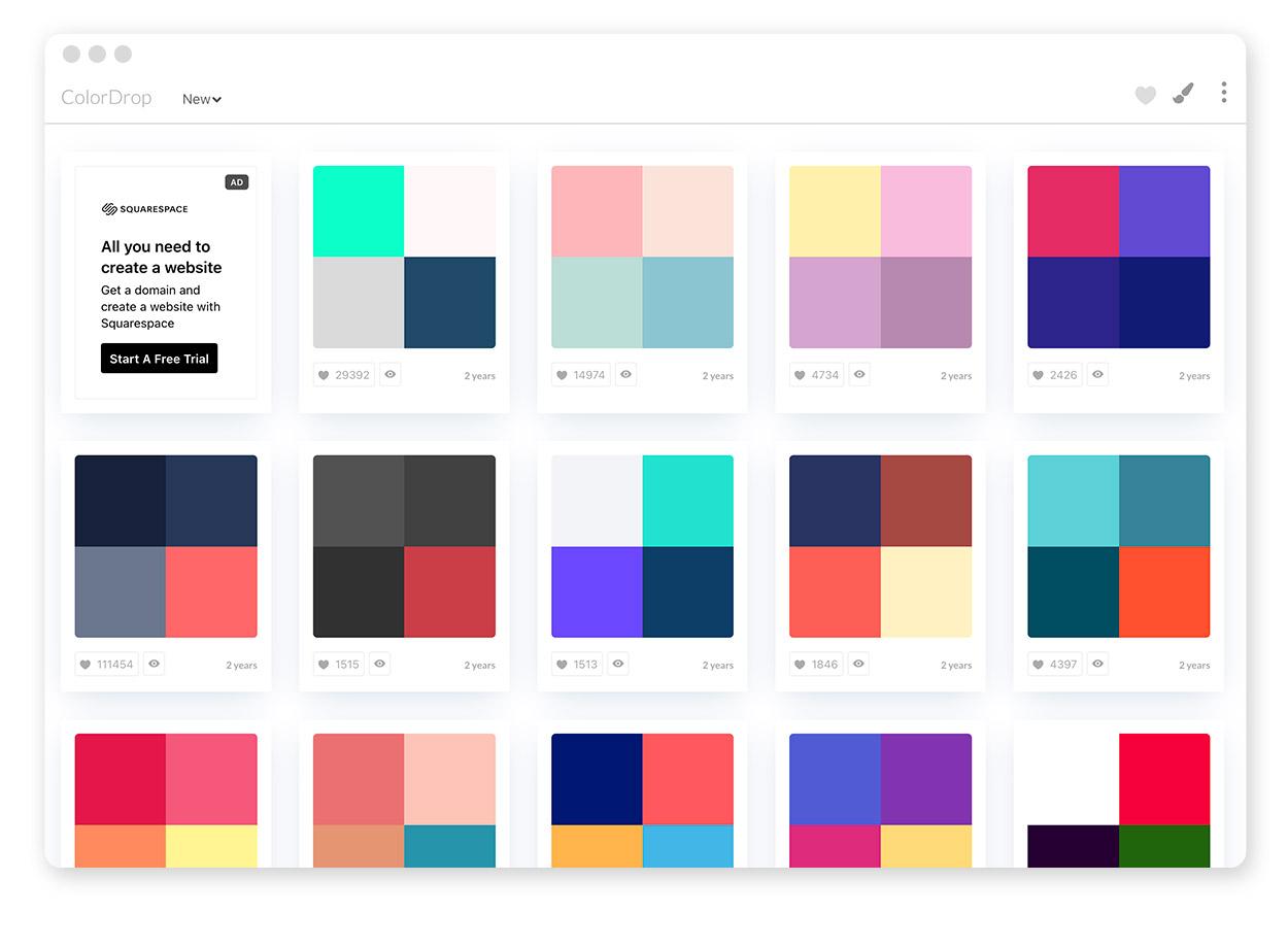 Über 30 Farb-Tools um Farbpaletten & Farbverläufe zu gestalten und zu entdecken 28