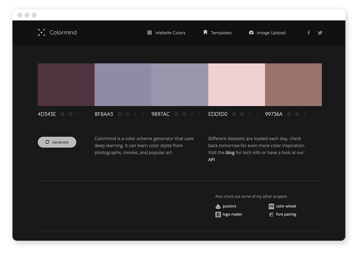 Über 30 Farb-Tools um Farbpaletten & Farbverläufe zu gestalten und zu entdecken 2