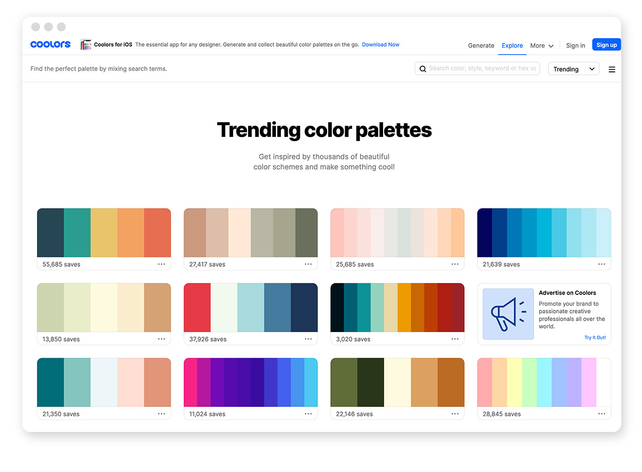Über 30 Farb-Tools um Farbpaletten & Farbverläufe zu gestalten und zu entdecken 22