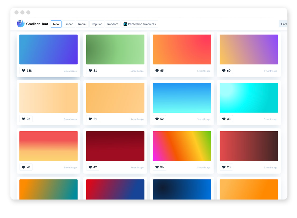 Über 30 Farb-Tools um Farbpaletten & Farbverläufe zu gestalten und zu entdecken 17
