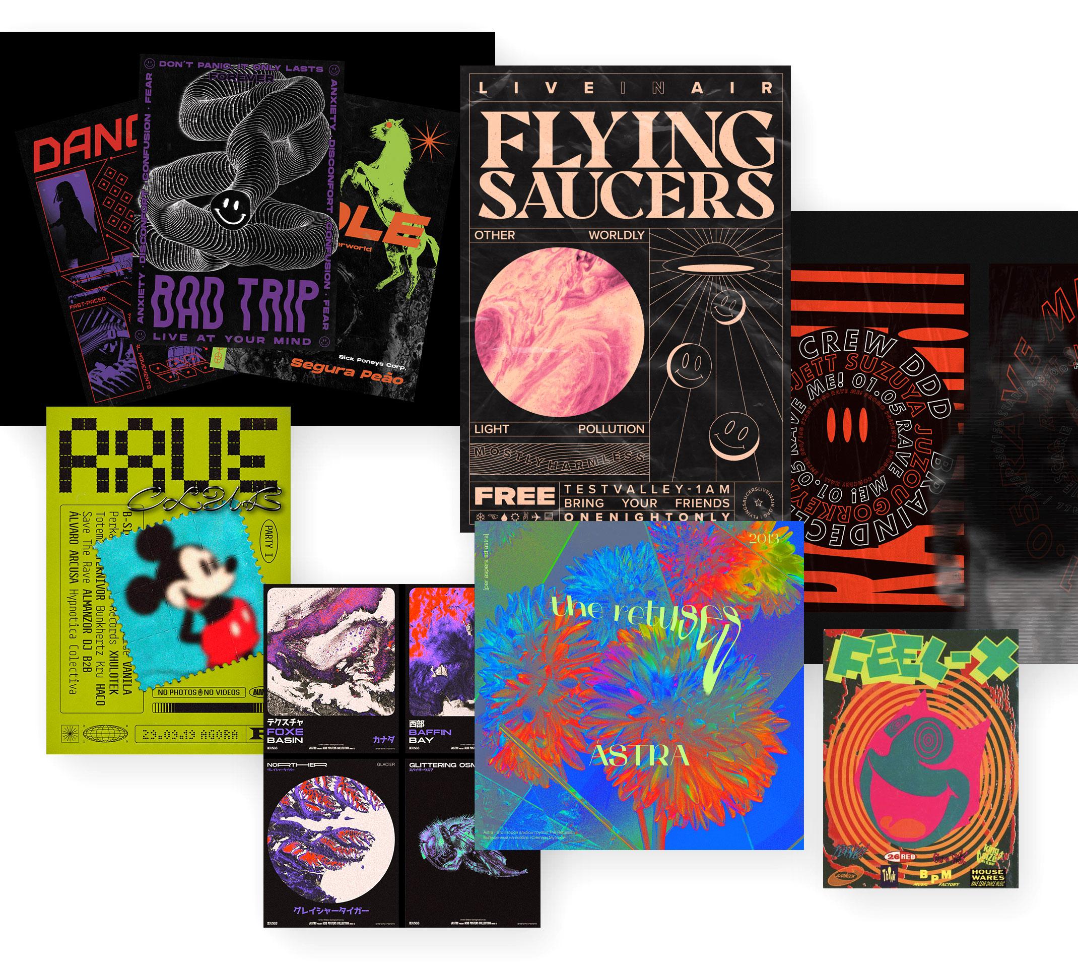 90ies Rave & Acid Design