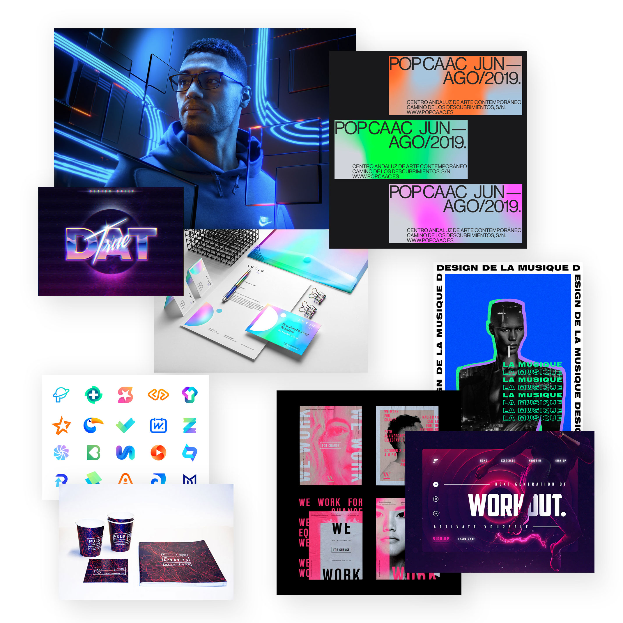 Neon-Farben