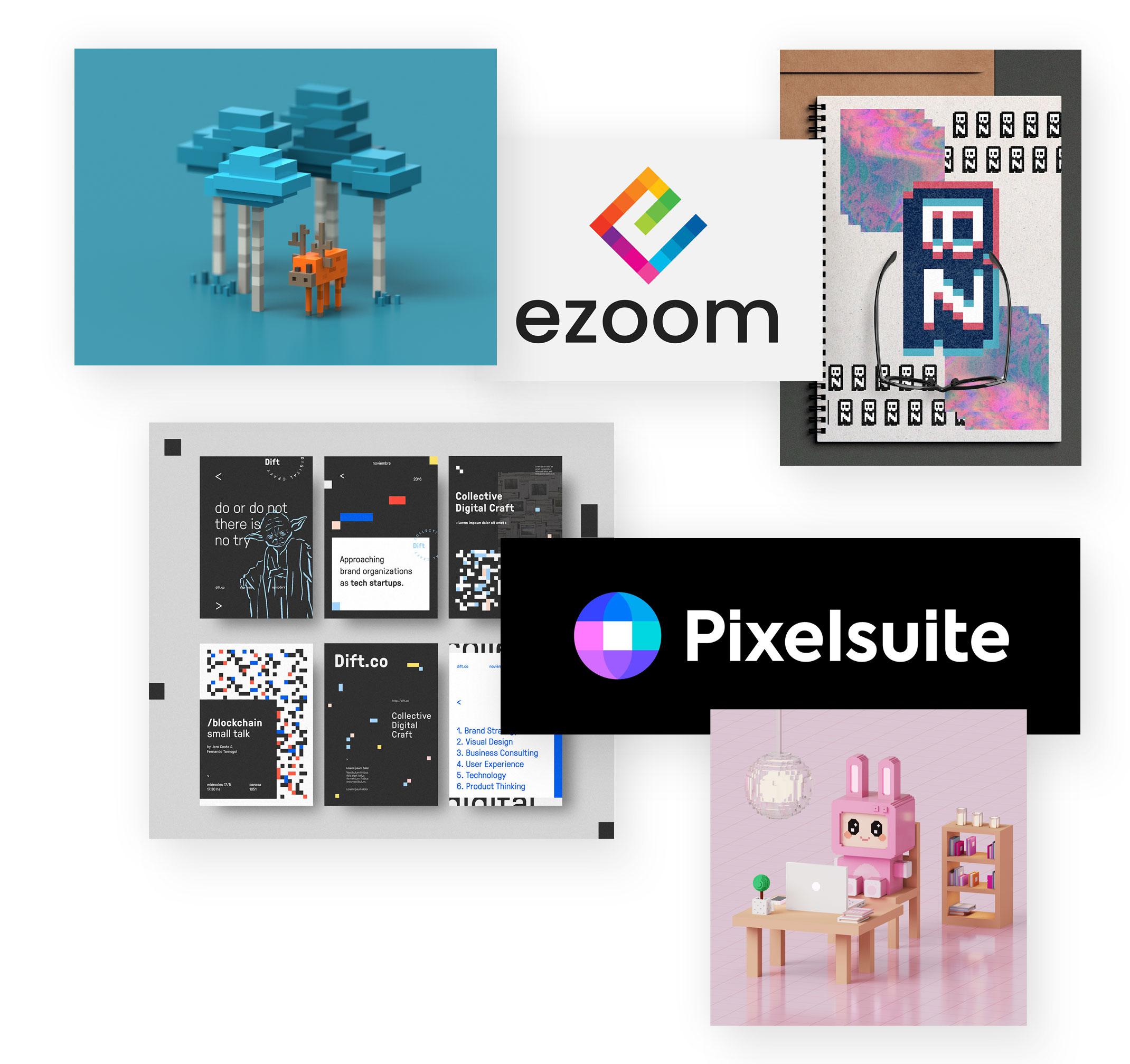 Pixel Art / Voxel Art Design