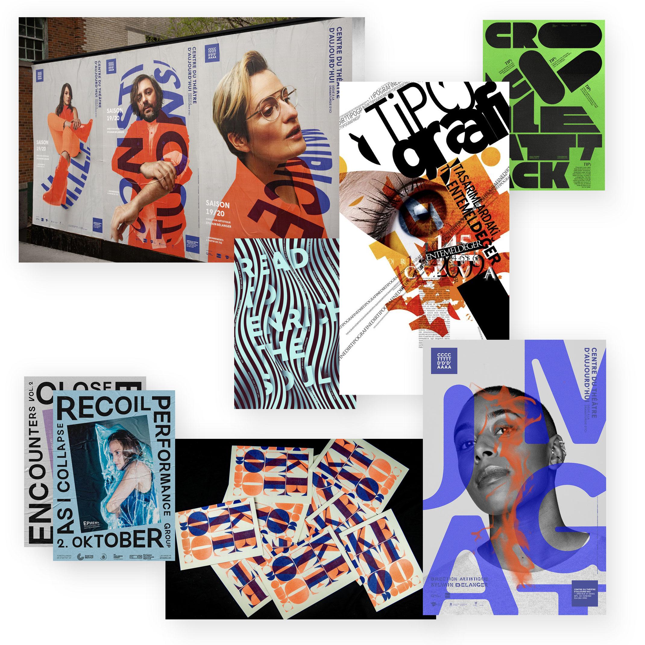 """Typografie-""""Chaos"""""""
