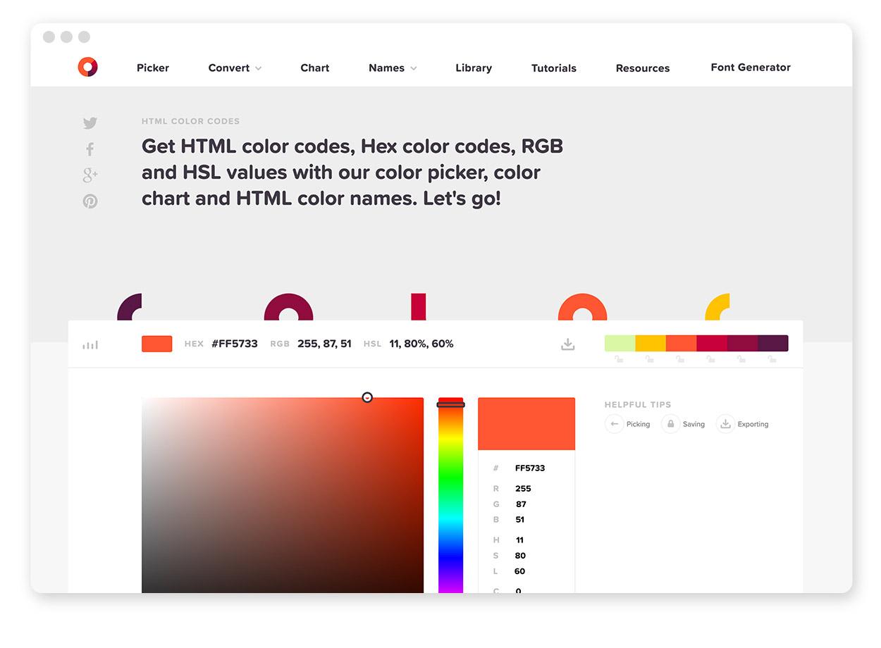 Über 30 Farb-Tools um Farbpaletten & Farbverläufe zu gestalten und zu entdecken 32