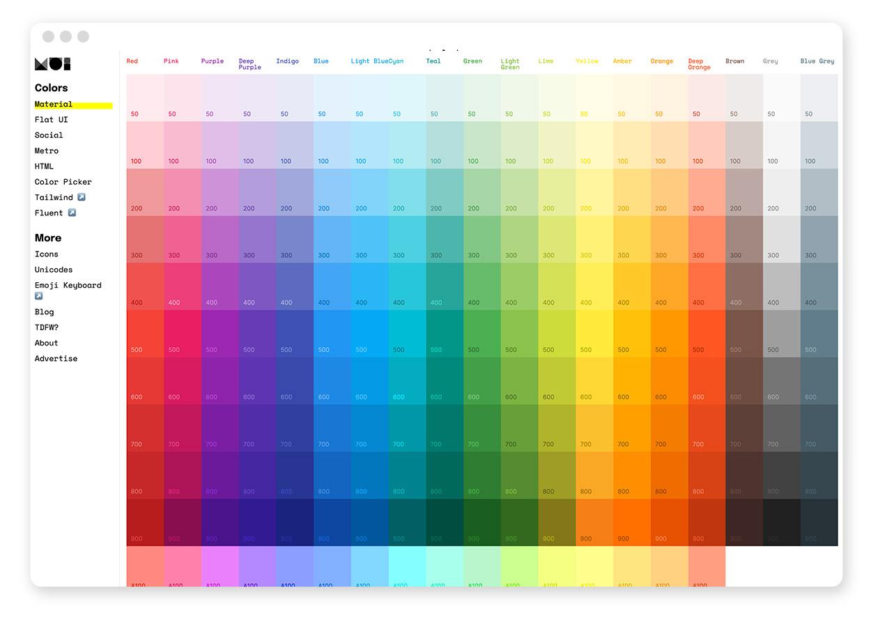 Über 30 Farb-Tools um Farbpaletten & Farbverläufe zu gestalten und zu entdecken 30