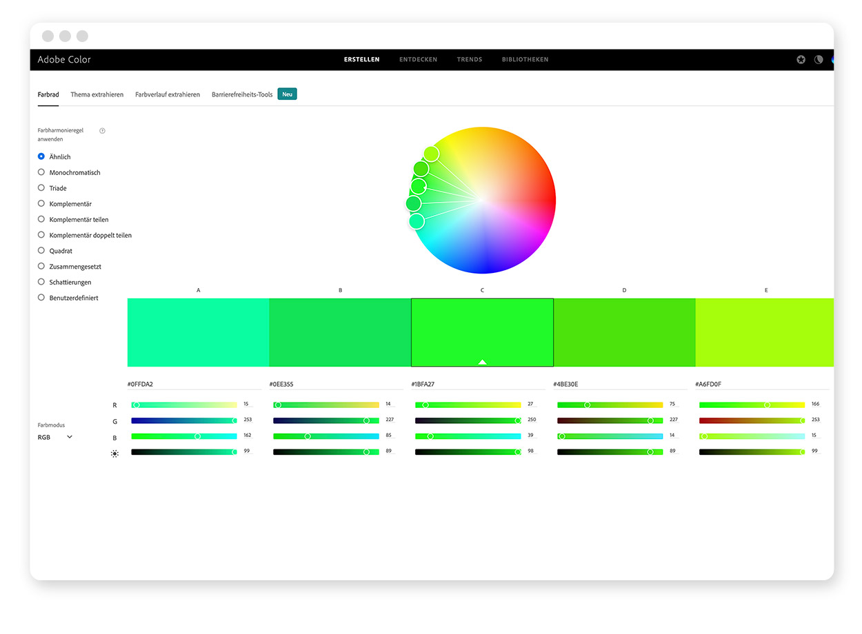 Über 30 Farb-Tools um Farbpaletten & Farbverläufe zu gestalten und zu entdecken 4