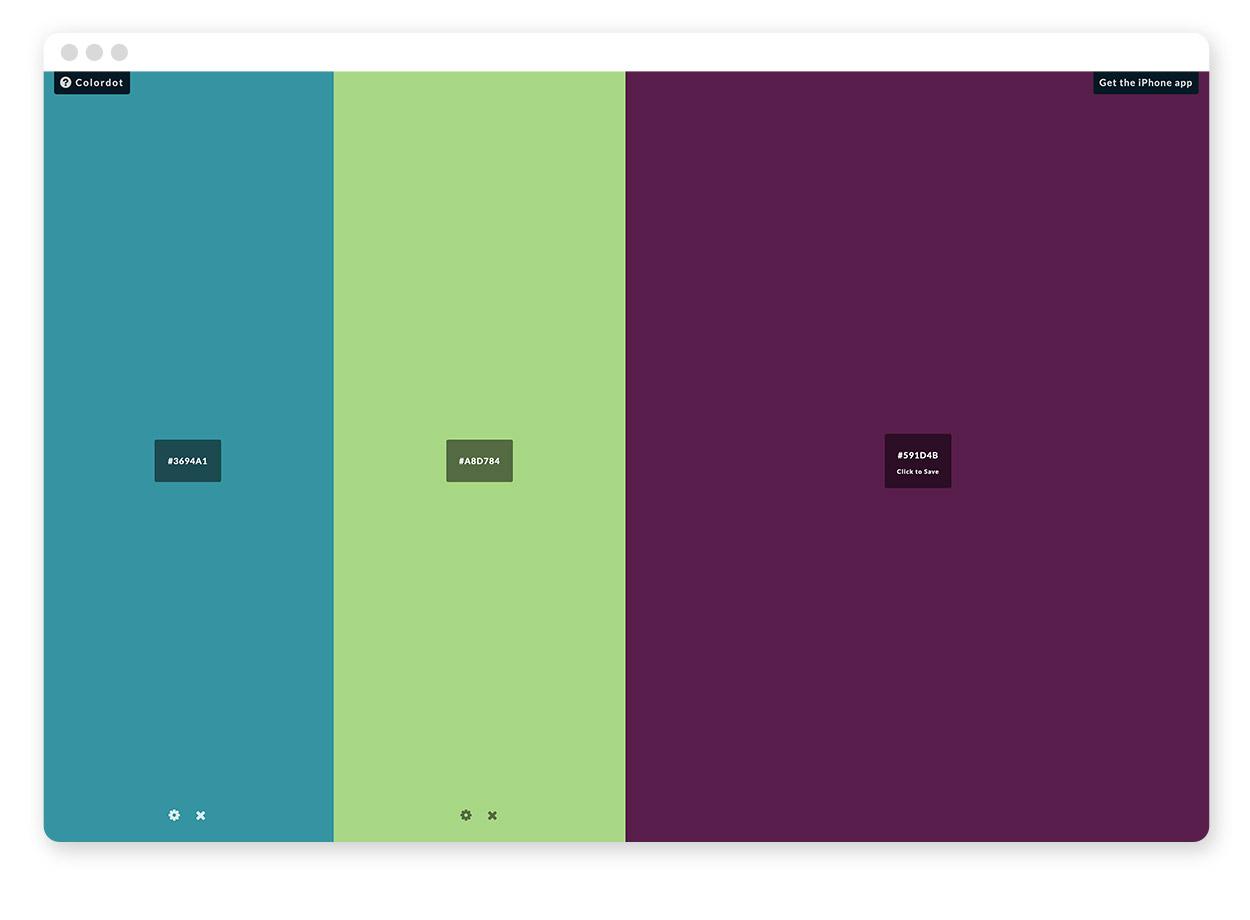 Über 30 Farb-Tools um Farbpaletten & Farbverläufe zu gestalten und zu entdecken 3