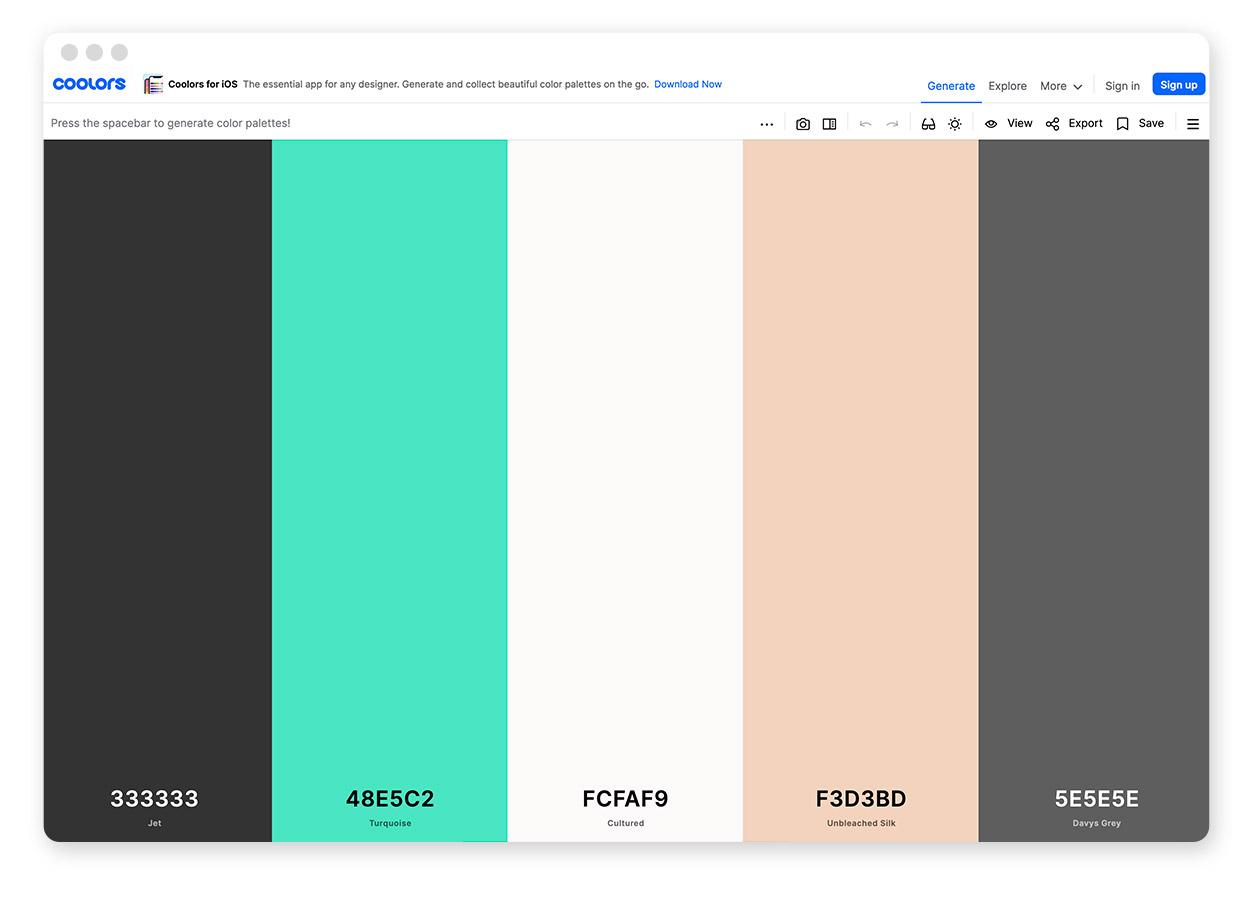 Über 30 Farb-Tools um Farbpaletten & Farbverläufe zu gestalten und zu entdecken 8