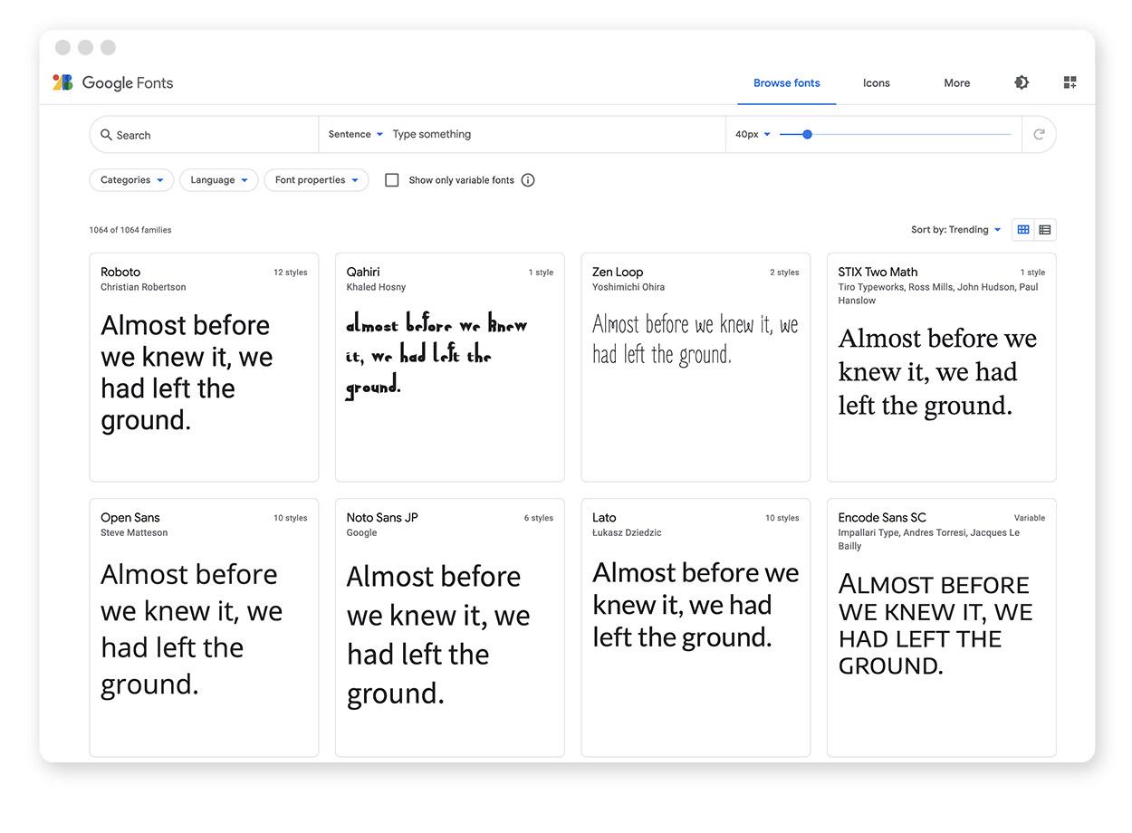 Google Fonts: In 3 einfachen Schritten einbinden 2