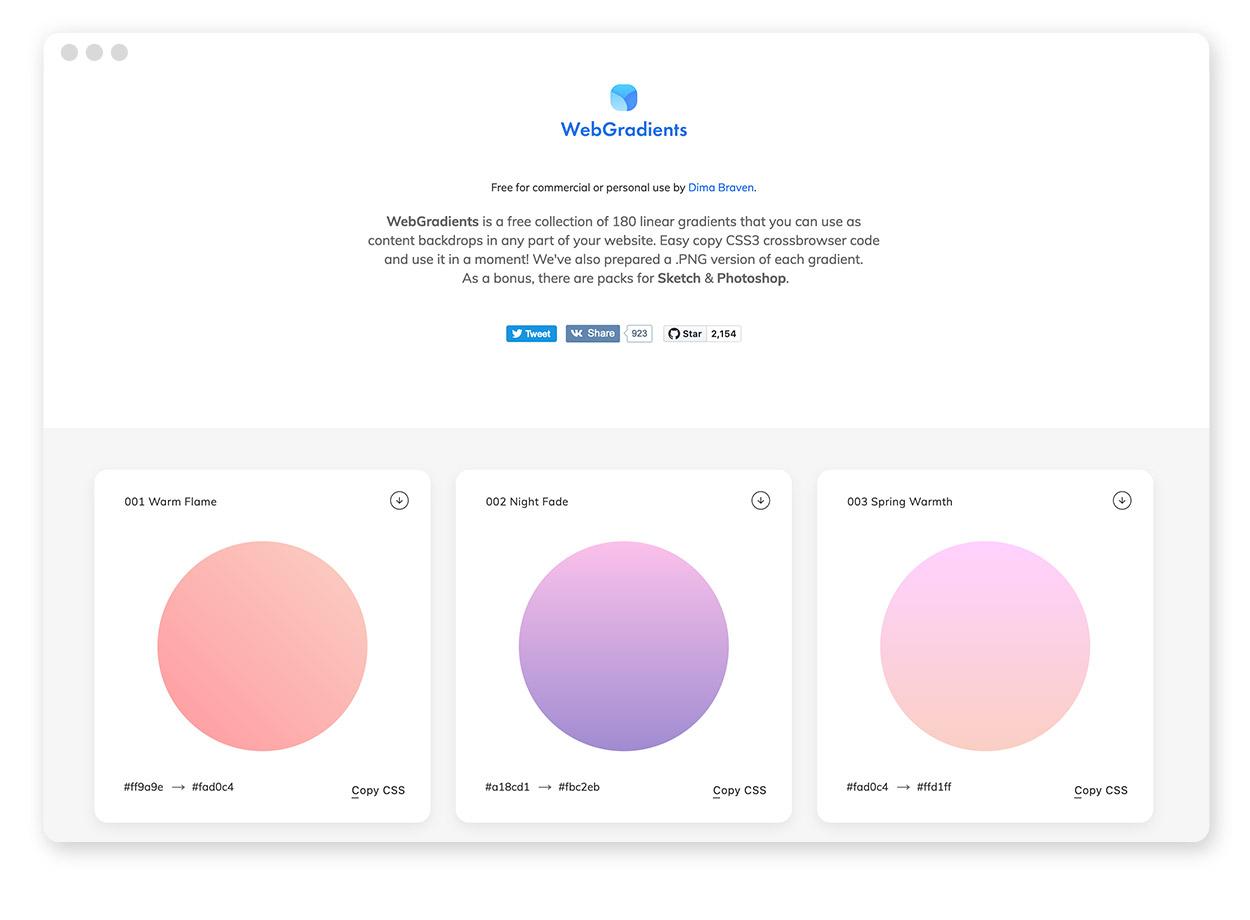 Über 30 Farb-Tools um Farbpaletten & Farbverläufe zu gestalten und zu entdecken 16